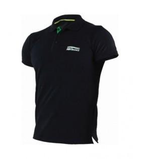 Polo męskie  NATURE M | S czarne | Stalco Perfect