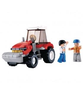 Zestaw klocków-traktor | Sluban