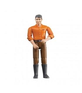 Mężczyzna w brązowych spodniach | Bruder